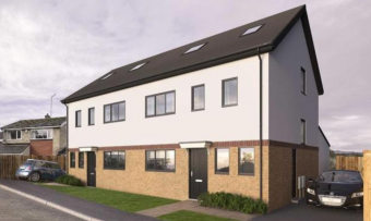 New residential development is nearing completion
