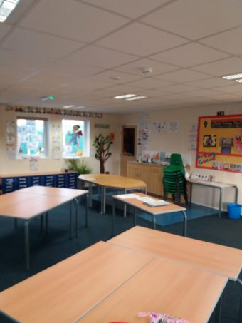 A single classroom build for Oakgrove Primary School in Stockport